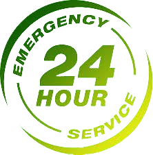 24 Hour Emergency Service Logo